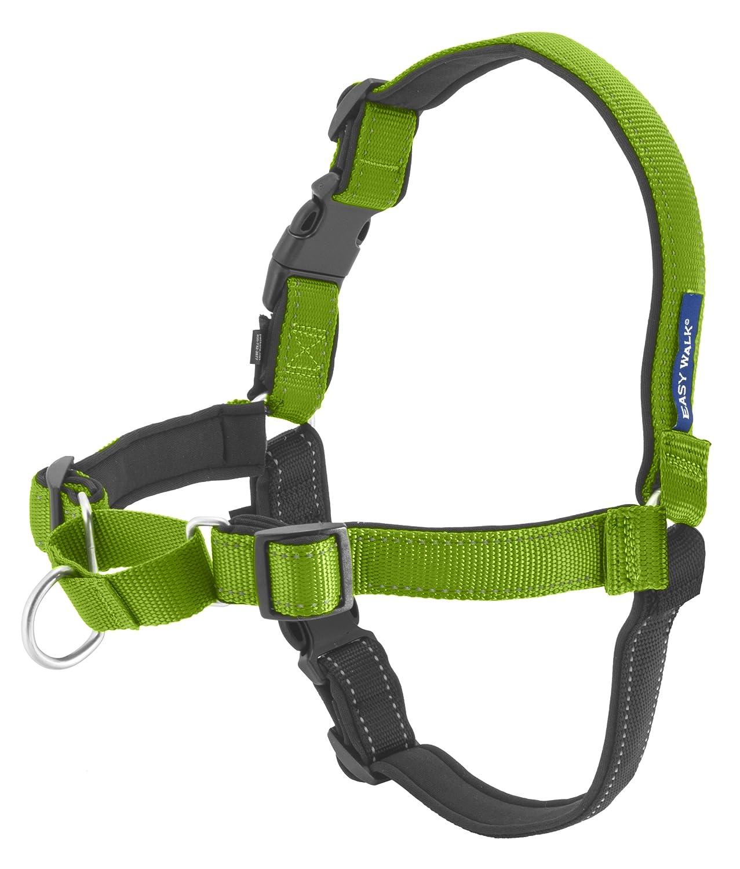 Apple Green Medium Large Apple Green Medium Large PetSafe EWH-D-HC-M L-APL Deluxe Easy Walk Harness, Medium Large, Apple Green