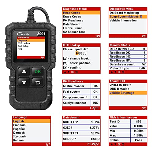 Launch Creader 3001 best car code scanner