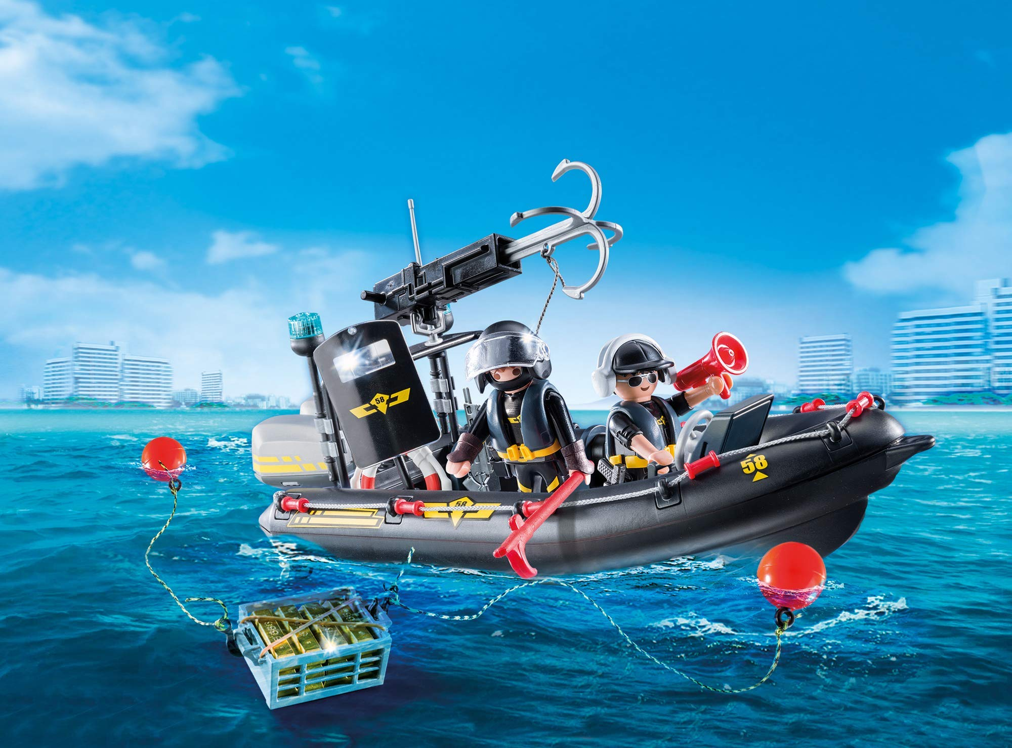 PLAYMOBIL® Tactical Unit Boat by PLAYMOBIL® (Image #4)