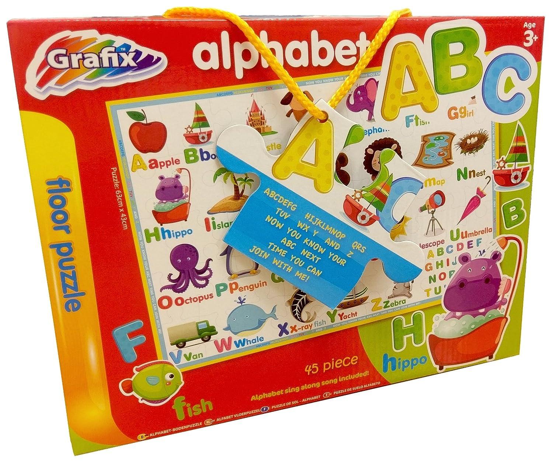 Large Alphabet Floor Puzzle Grafix 12-0142/12