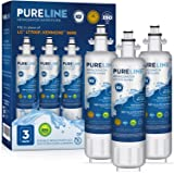 Pureline LT700P & 9690 Water Filter Replacement. Compatible with Kenmore Elite 46-9690, LG LT700P, ADQ36006101, LMXS27626s, L