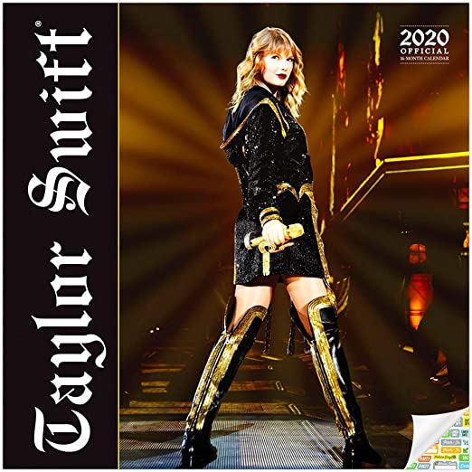 Taylor Swift Calendar 2020 Bundle Deluxe 2020 Taylor Swift Wall Calendar With Over 100 Calendar Stickers Taylor Swift Gifts Office Supplies Amazon Ca Office Products
