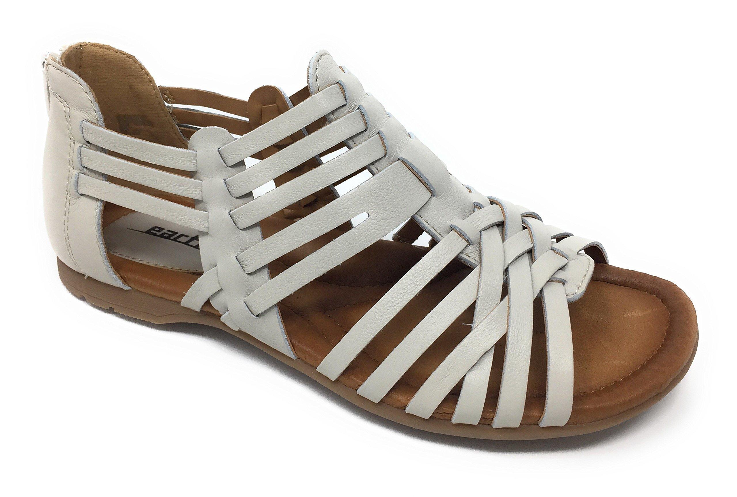 Earth Bonfire - Womens Comfort Sandal Off White (6)