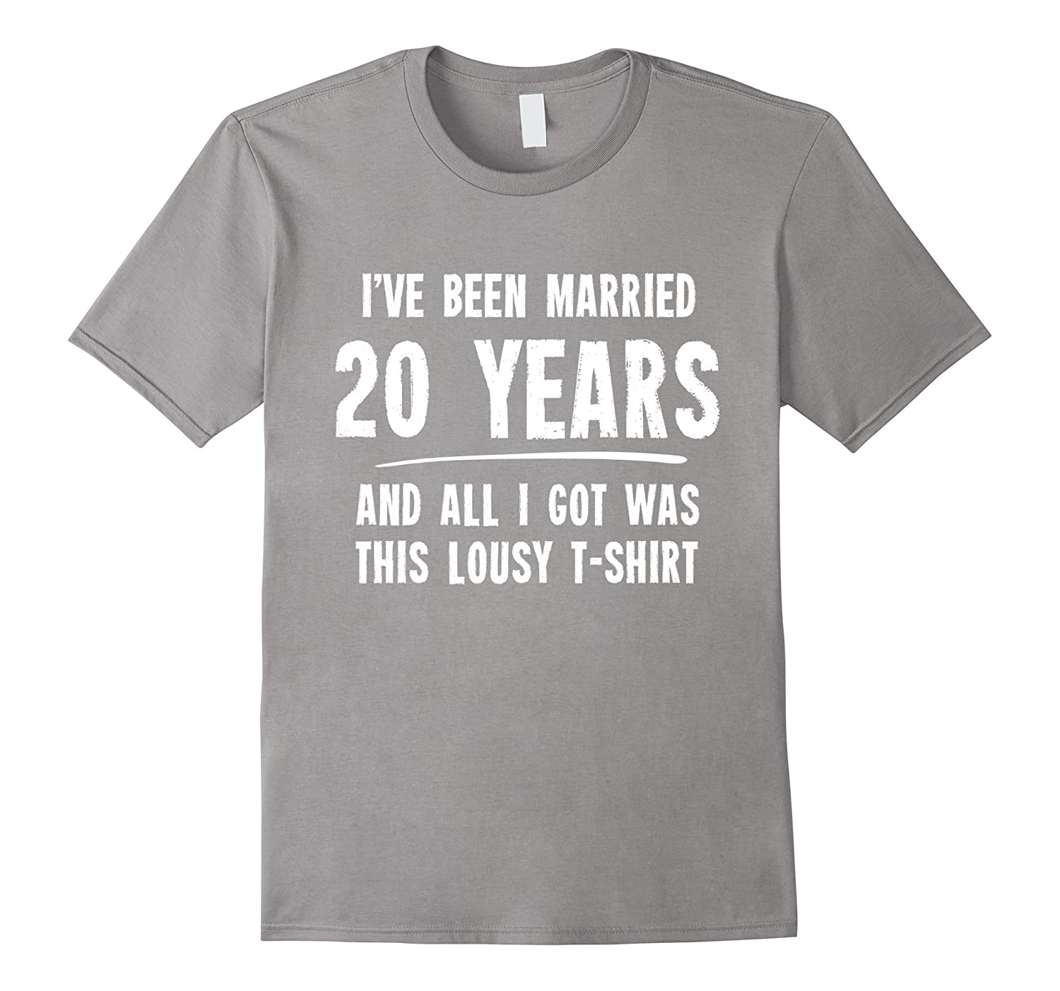 20 Years Wedding Anniversary Gift: 20 Year Anniversary Gift 20th Wedding Married Funny T