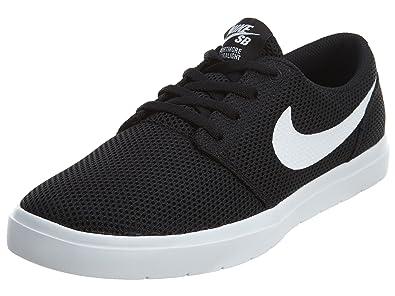 Nike Sb Portmore Ii Ultralight BlackWhite Herren Sneakers