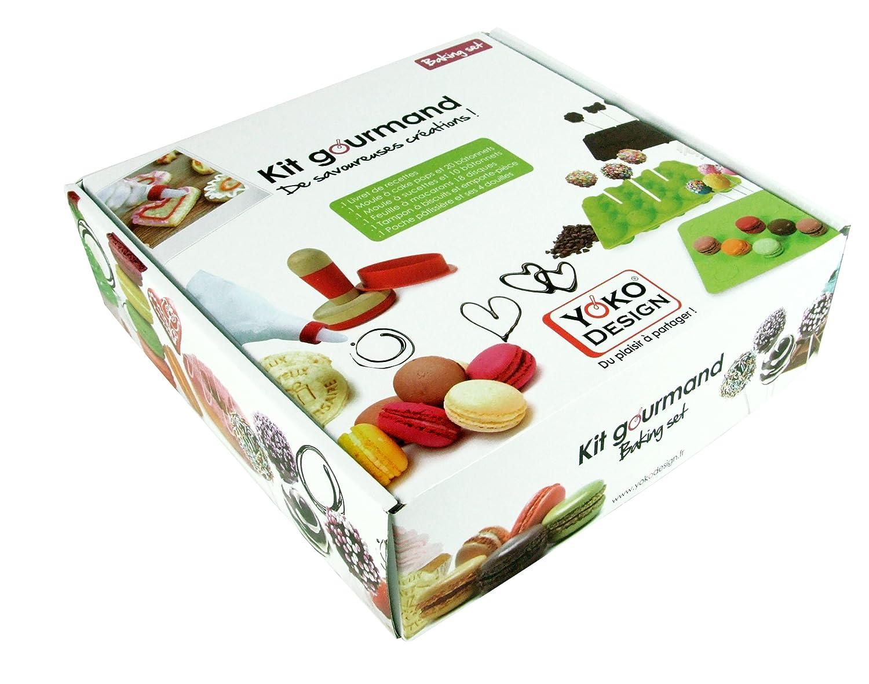 Yoko Design 1203 Kit de Pâtisserie Gourmand Silicone/Platine 23,5 x 24,5 x  7 cm Amazon.fr Cuisine \u0026 Maison