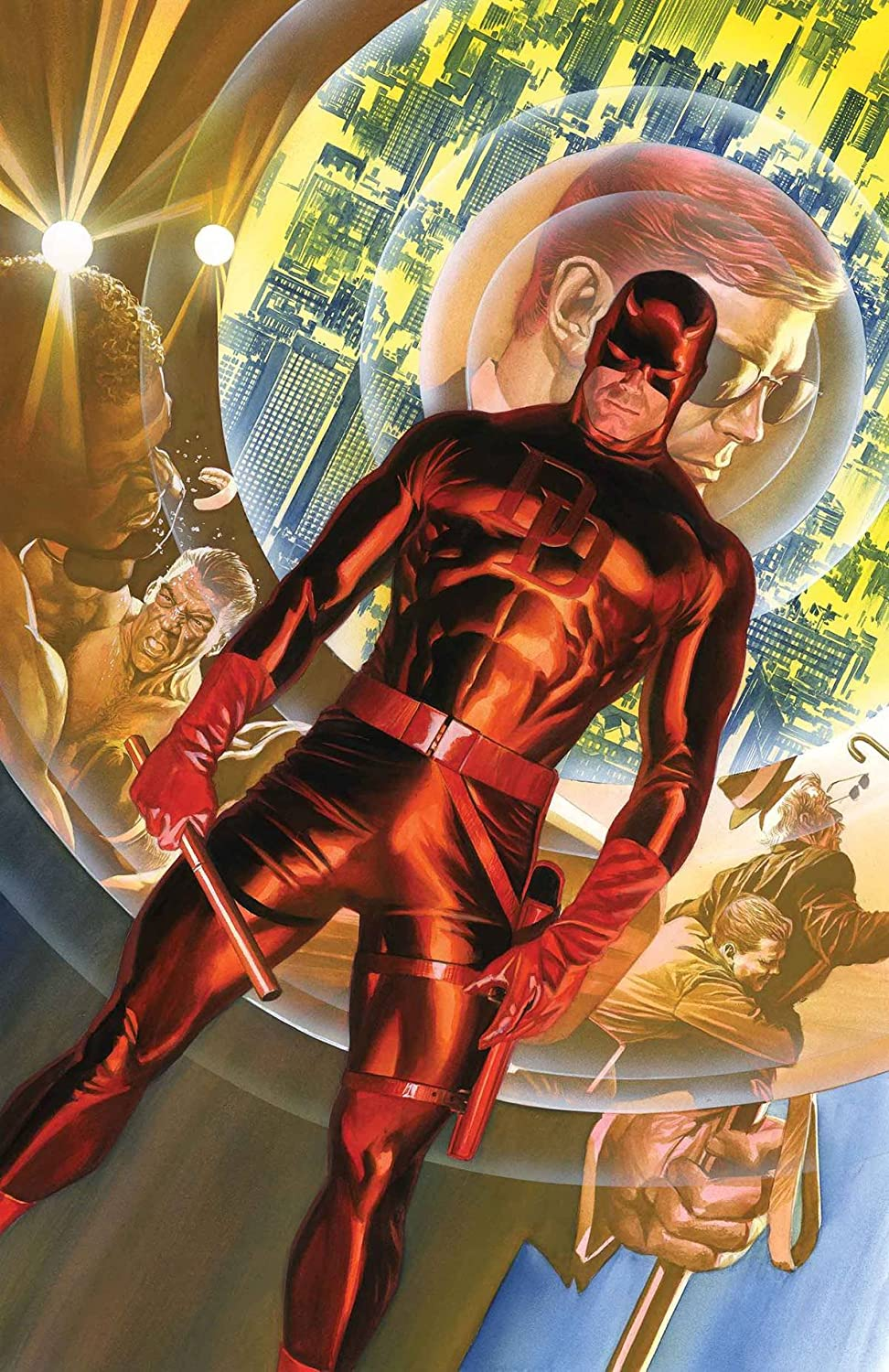 Amazon.com : Marvel Comics Daredevil #1 75th Anniversary 24 X 36 Rolled Poster By Alex Ross : Everything Else