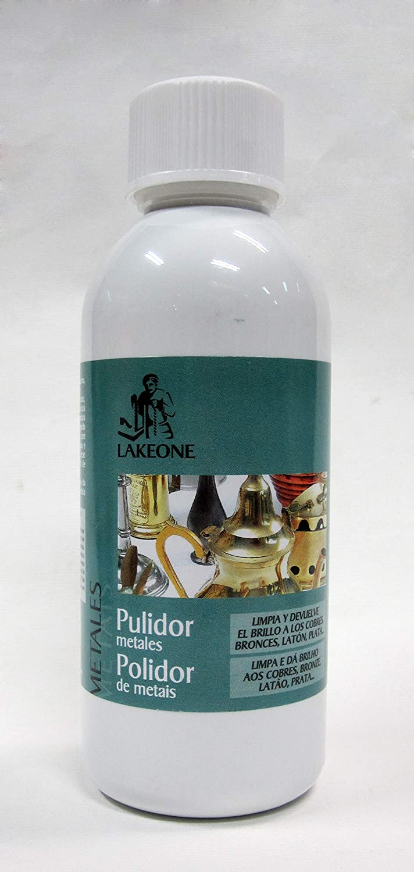 PULIDOR METALES LAKEONE 250 ML: Amazon.es: Bricolaje ...