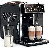 Philips Saeco Xelsis SM7580/00 kahve makinesi (LED display) parlak Noir (Siyah (de versiyon)