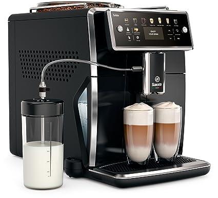 Saeco sm7580/00 Xelsis – Cafetera automática, pantalla LED con teclas de marcación directa