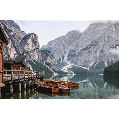 Jigsaw Central Lago di Braise 1000 Piece Jigsaw Puzzle for Adults and Children.