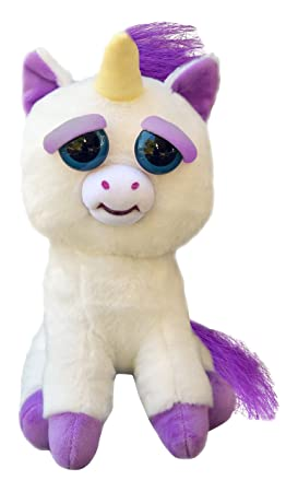Feisty Pets FP-UNI Glenda glitterpoop unicornio de peluche