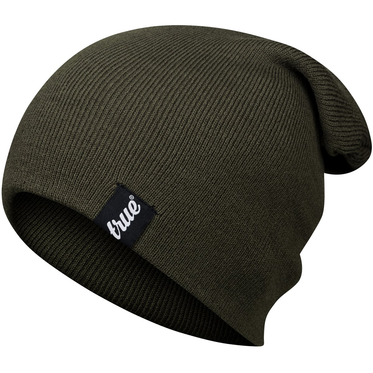 fa204eed6 TRUE VISION Mens Beanie Hat - One Size Soft Knitted Acrylic Unisex Slouch  Toque