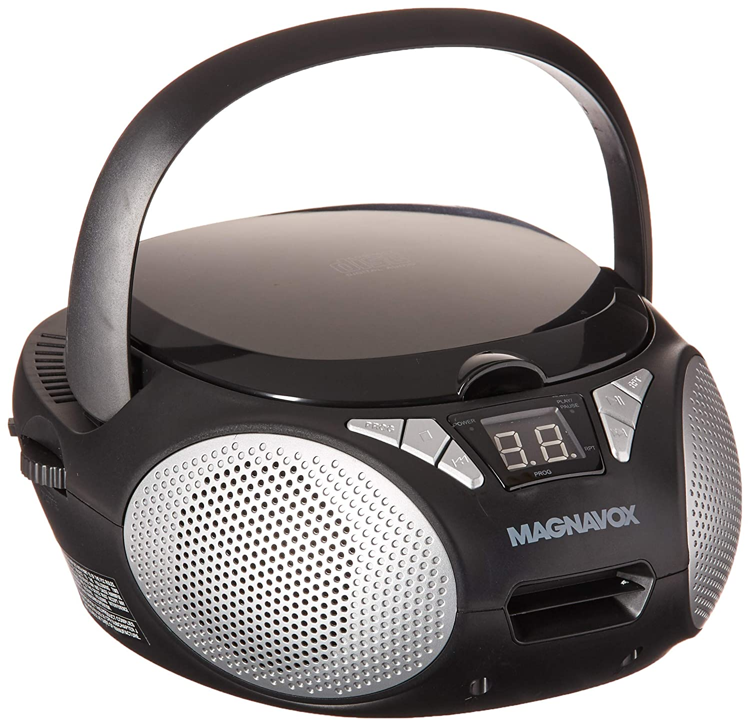 Magnavox MD6924 New CD Boombox - Black Craig Electronics