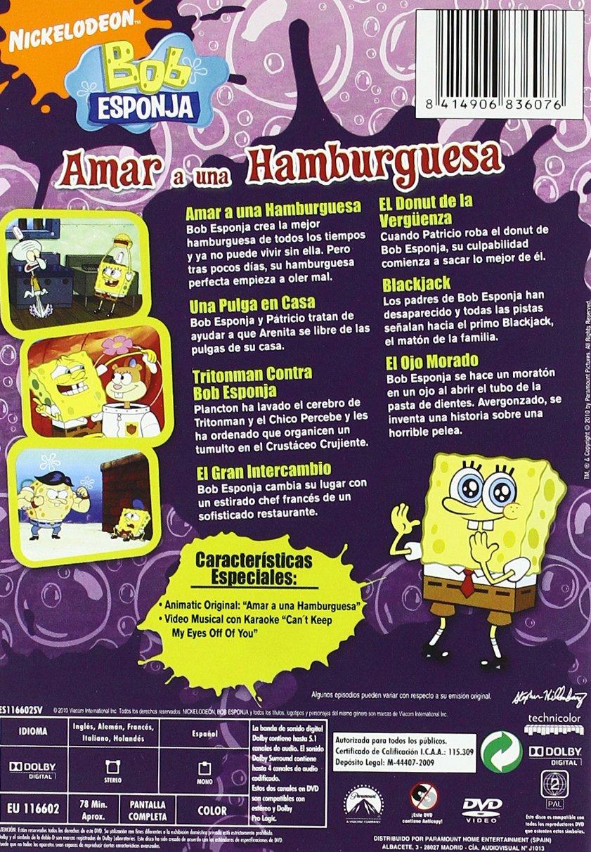 Amazon.com: Bob Esponja: Amar Hamburguesa + Bob Esponja ...