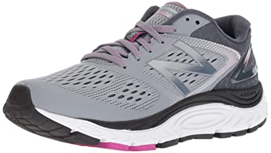 New Balance Women's 840v4 Running Shoe, Light Grey, 8 B US