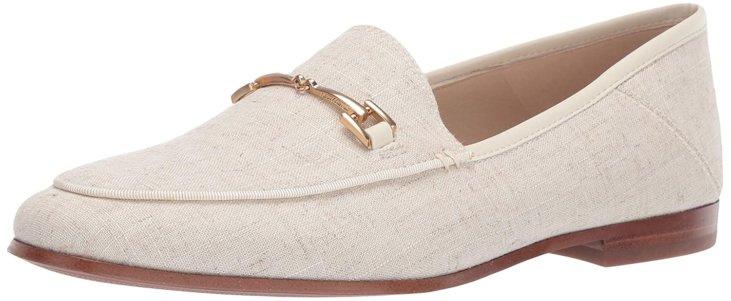 Natural Linen Sam Edelman Women's Loriane Loafer Flats