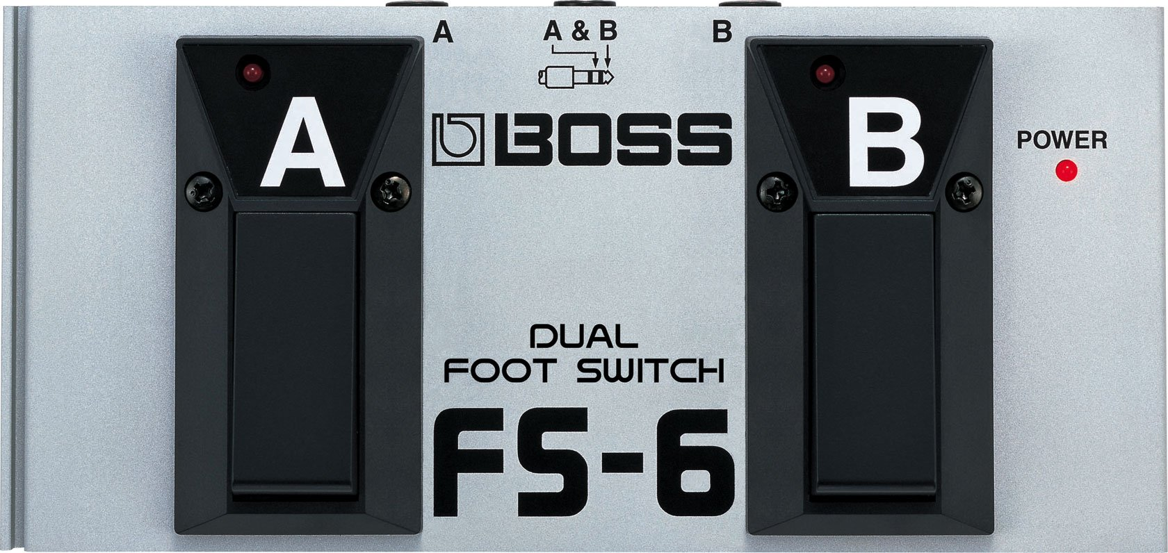 BOSS Metal Dual Footswitch, battery-powered (FS-6) by BOSS