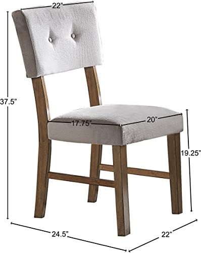 Homelegance Edam Upholstered Dining Side Chair