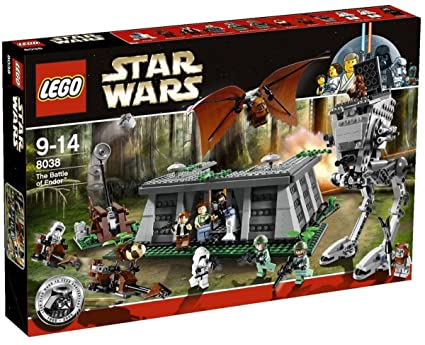 Amazoncom Lego Star Wars The Battle Of Endor 8038 Discontinued