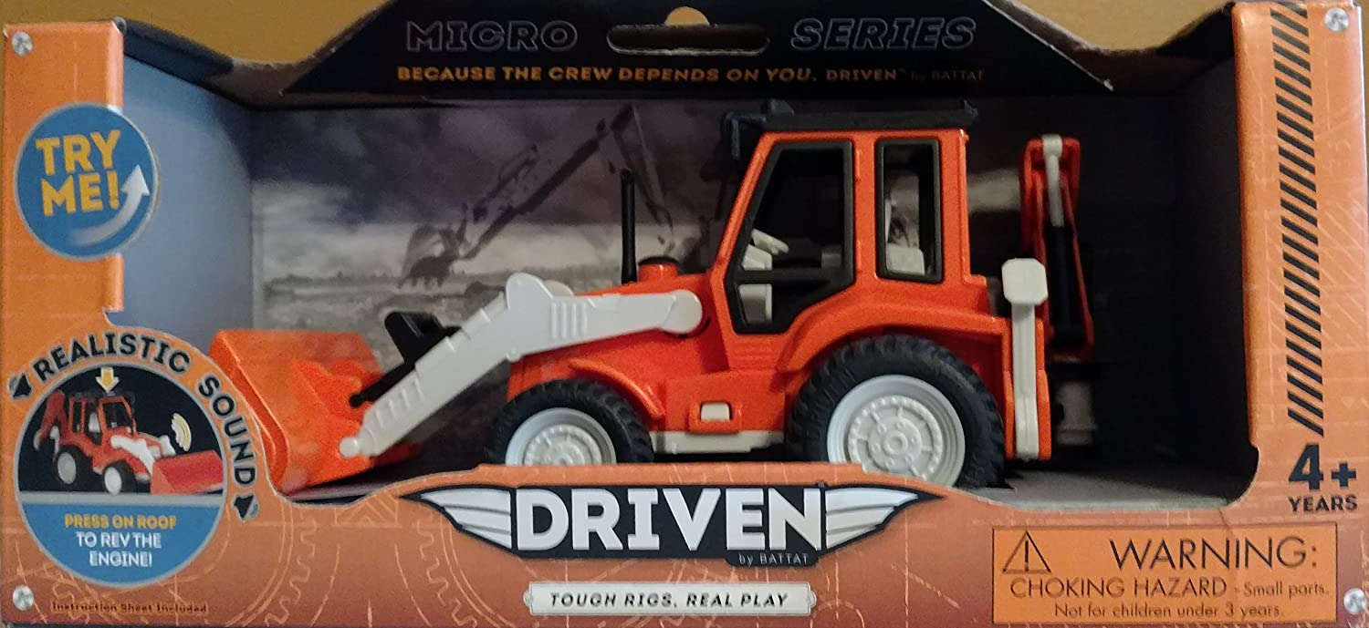 amazon com backhoe loader micro series because the crew depends