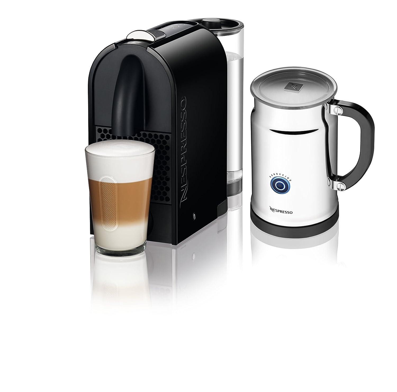 amazon com nespresso u d50 espresso maker with aeroccino milk