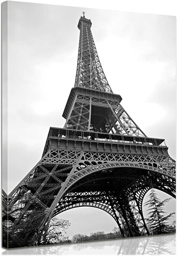 Bilderdepot24 Bastidor Imagen - Cuadros en Lienzo Torre Eiffel ...