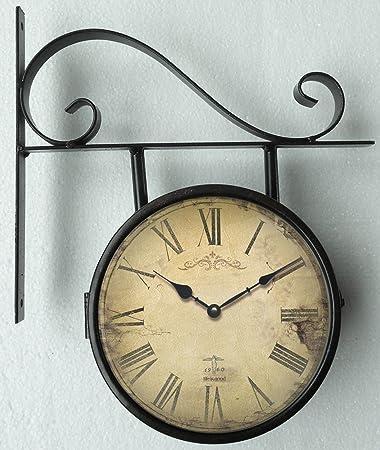 orologio da parete orologio della stazione design nostalgia orologio per cucina o salotto nuovo