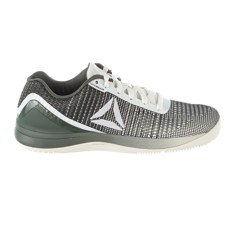 Reebok Women's R Crossfit Nano 7 Sneaker, Women's chalk/Hunter Green, 8 M US