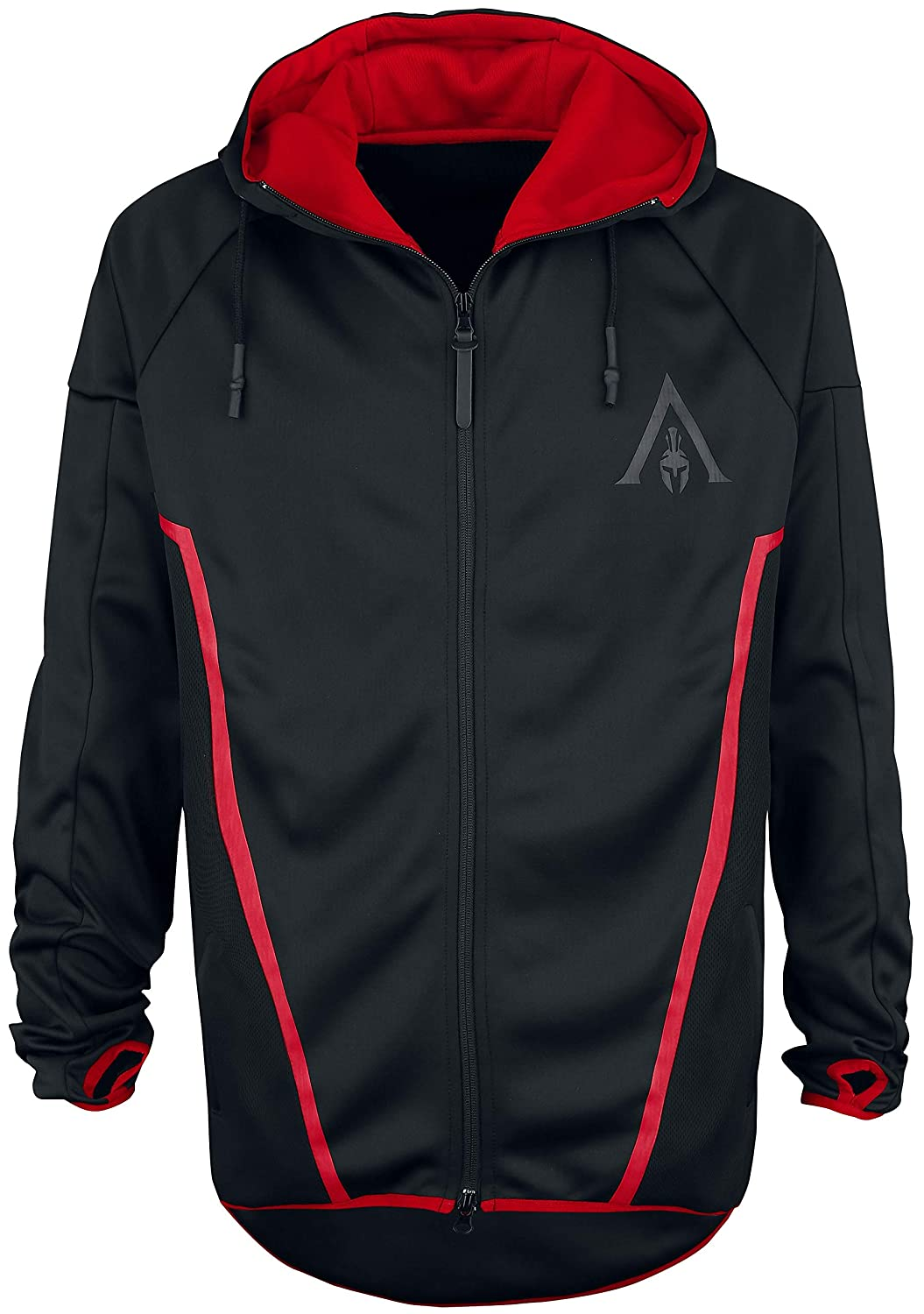 Assassin's Creed Sweatshirt Odyssey - Technical Hexagonal Men's Hoodie Black-L