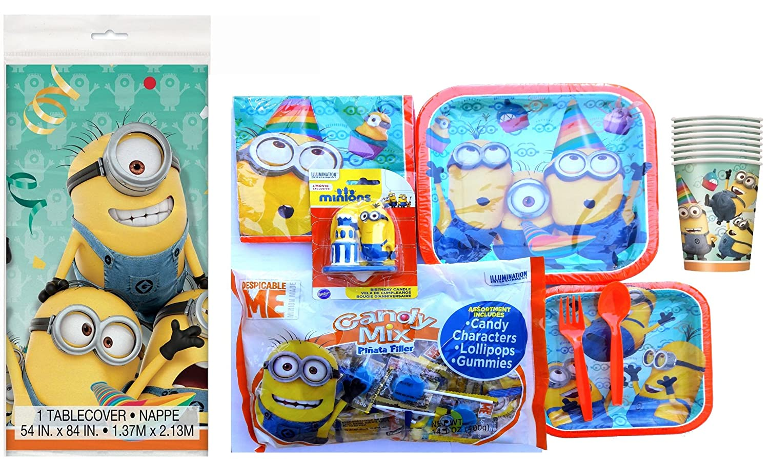 Amazon.com: MINIONS Party Supplies Super Package: Health ...