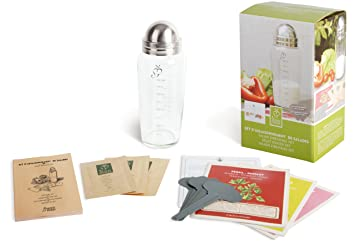 Amazon.com: Esschert Design USA C1006 Secrets du Potager Salad ...