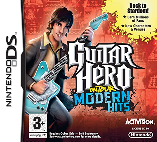 Guitar Hero On Tour: Modern Hits - Game Only (Nintendo DS) [Importación