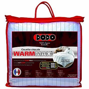 Dodo Warmmax Couette Unie Blanc 260 x 240