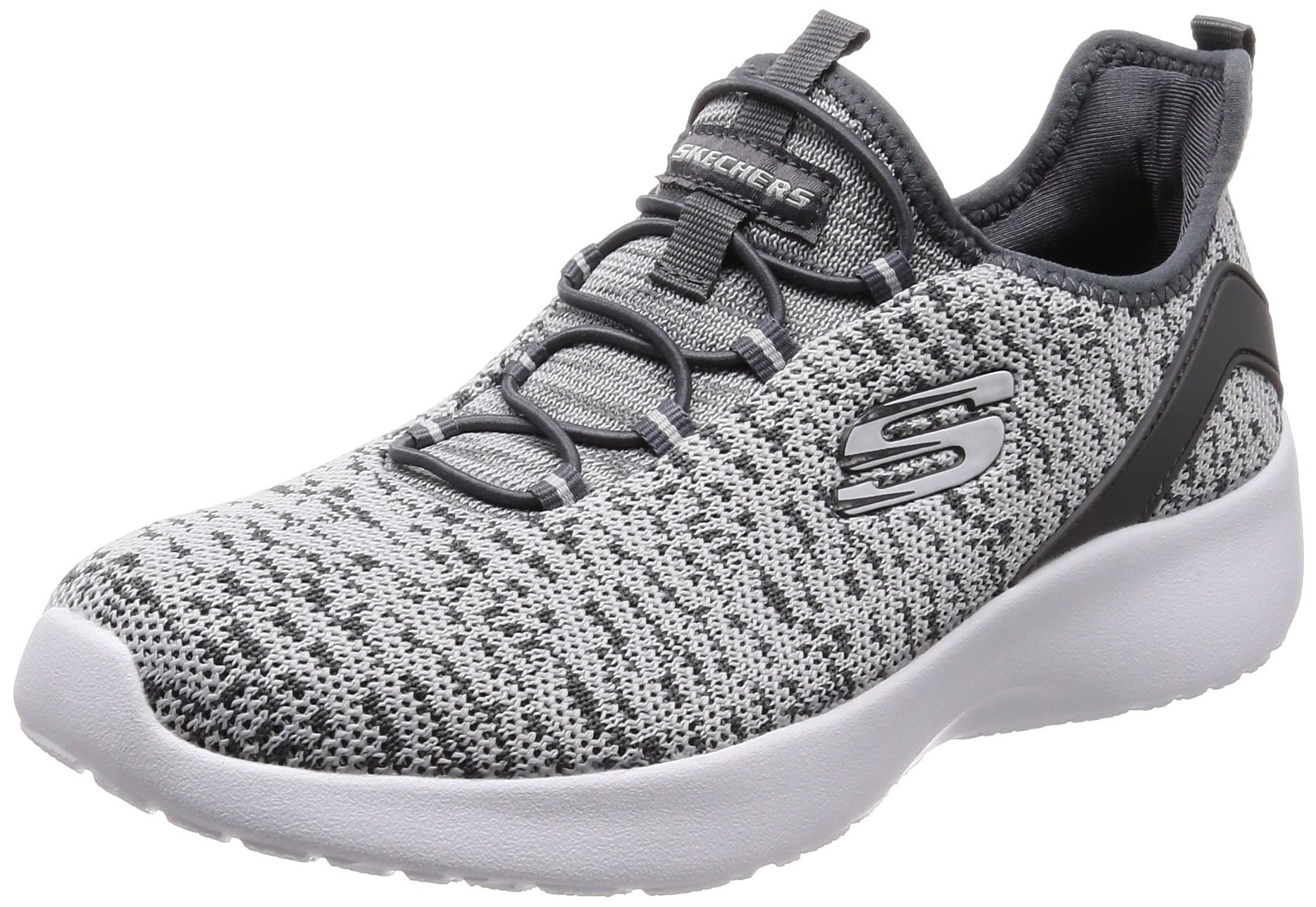 Skechers Women's Dynamight - Fleetly Gray Ankle-High Running Shoe 9M