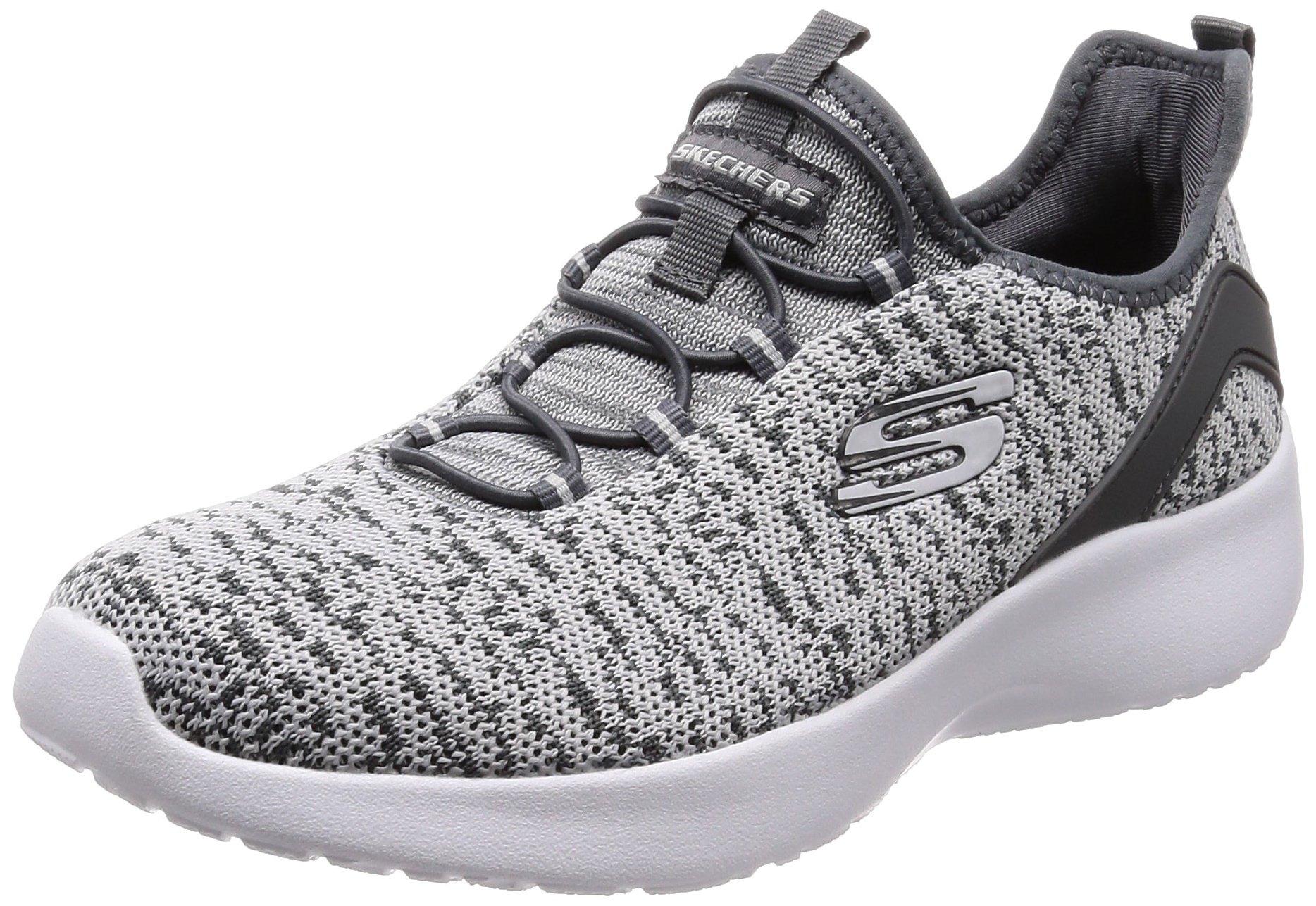 Skechers Women's Dynamight Fleetly Gray Ankle-High Running Shoe - 7M
