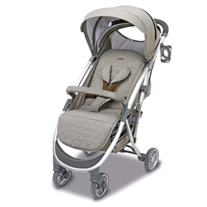 Asalvo - Silla de paseo Cotton, Color Beige