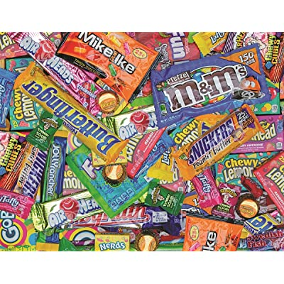 Springbok's 1000 Piece Jigsaw Puzzle Sweet Tooth: Toys & Games