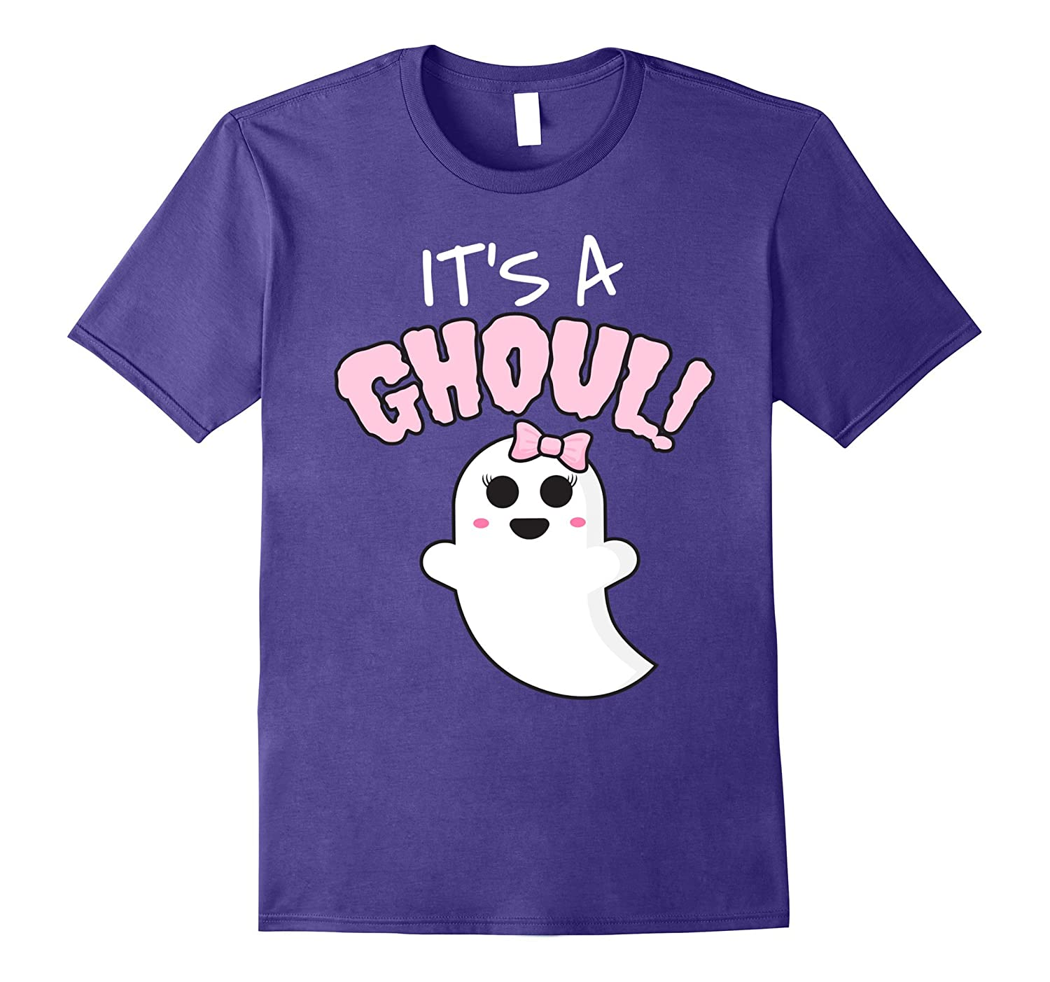 Its A Ghoul Halloween Gender Reveal Shirt Girl Shirt-TJ