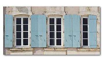 Amazon De Franzosische Fenster 2 Kunstlermotiv Xxl Bild