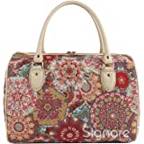 Signare Tapestry Travel Weekend Overnight Bag in Kaleidoscope Design