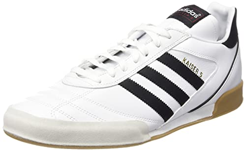 best website 92a33 40d03 adidas Kaiser 5 Goal, Men s Footbal Shoes, White (Running Ftw black)