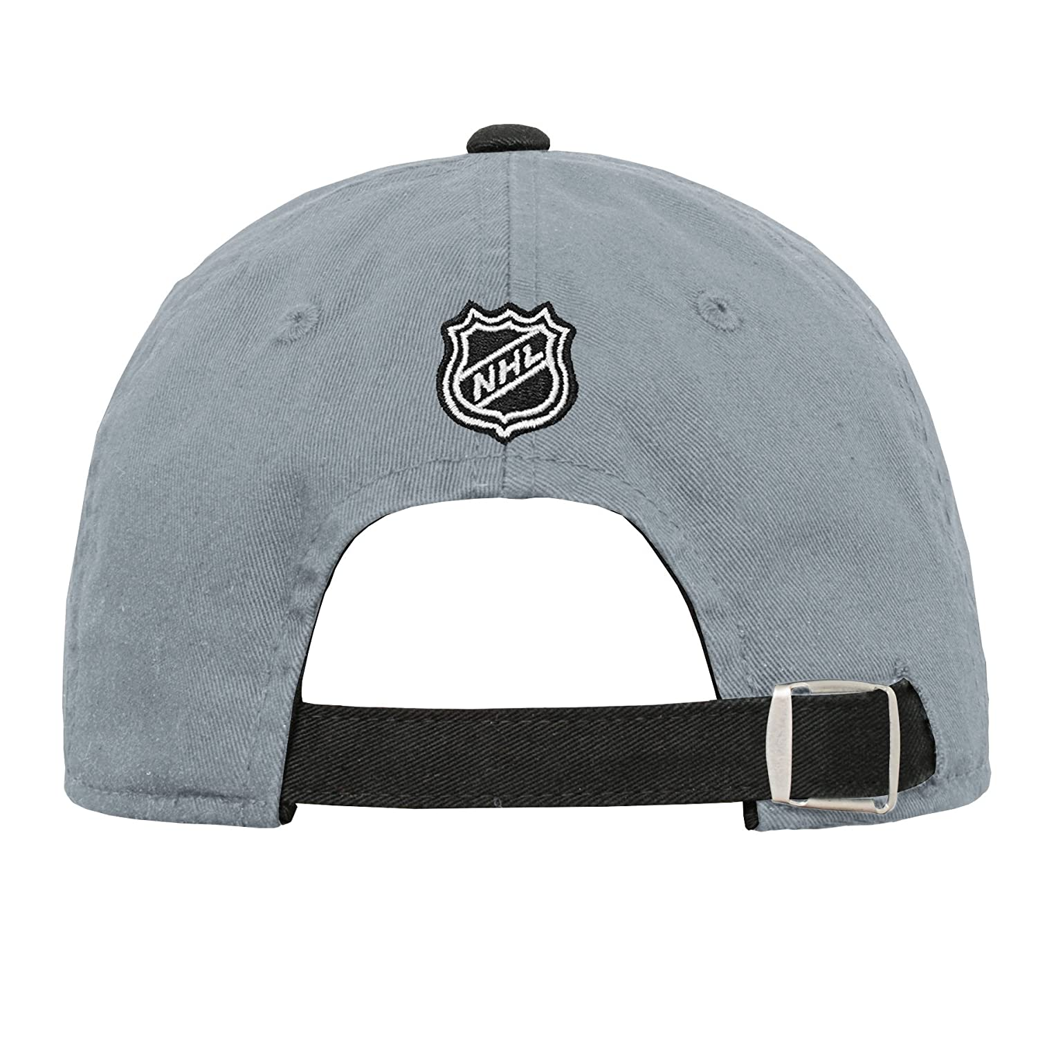 Youth One Size NHL by Outerstuff NHL Los Angeles Kings Youth Girls Retro Colorblock Structured Hat Black