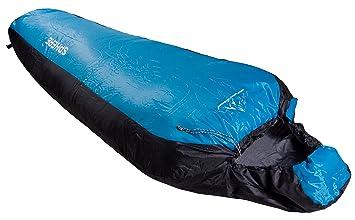NEVERLAND® SPHERE saco de dormir momia bolsa de dormir +5 a + 25 ° C, 550 g muy ligero, extremadamente pequeño 25x12x12cm: Amazon.es: Deportes y aire libre