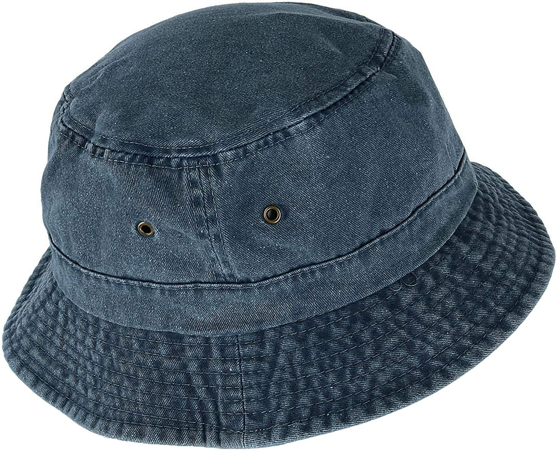 Ascentix Cappello da Pescatore in Cotone Ripiegabile