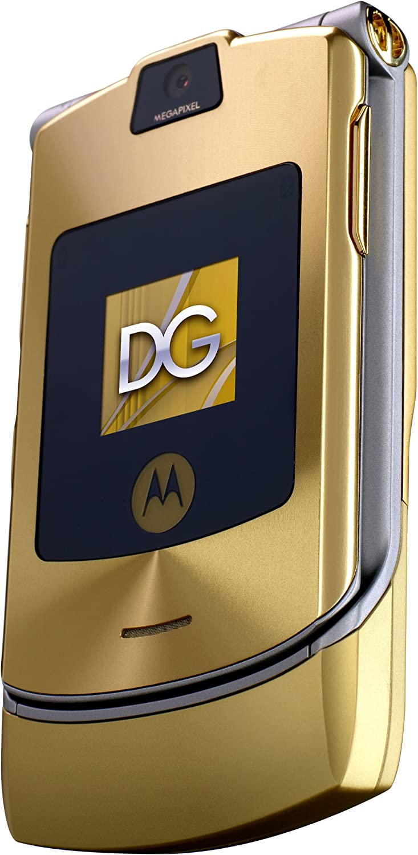 B000J6EXTY Motorola RAZR V3i Dolce & Gabbana Unlocked Phone with MP3/Video Player, and MicroSD-International Version with No Warranty (Gold) 81cEk04BndS.SL1500_