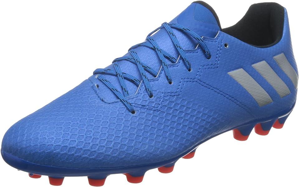 official photos 5d374 e3466 adidas Messi 16.3 AG, Bota de fútbol, Shock Blue-Matte Silver-Black