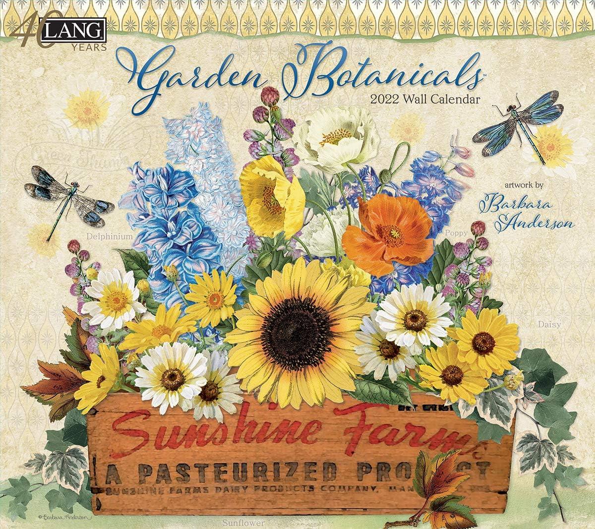 Lang Garden BOTANICALS 2022 Wall Calendar (22991002014)