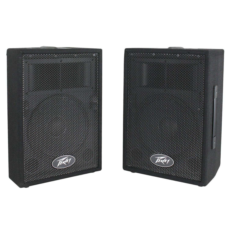 Peavey DJ 2-Way 100 Watt PA Speaker System with 10'' Woofers (2 Speakers)   PVi10
