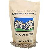 Small Brown Lentils • Pardina or Spanish Brown • 100% Desiccant Free • 4 lbs • Non-GMO Project Verified • 100% Non-Irradiated